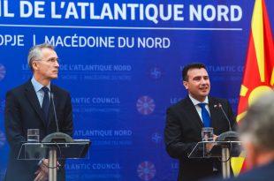 Sekretari i NATO-s, Jens Stoltenberg, tha se Kosova e Serbia duhet të marrin shembull Marrëveshjen mes Maqedonisë e Greqisë