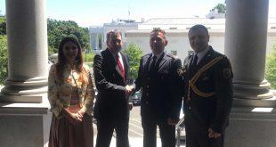 Komandanti i FSK-së, Rrahman Rama u prit në Departamentin e Shtetit dhe Këshillin e Sigurisë Kombëtare të Amerikës