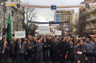 Sindikata e Re e KEK-ut proteston të martën por paralajmëron edhe grevë rast të mos përmbushjes të kërkesave të tyre