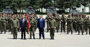 Kryetari i Kosovës me rastin e 20 -vjetorit të çlirimit të vendit vizitoi FSK-në