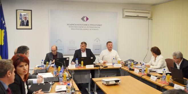 Bordi i Drejtorëve të Agjencisë Kosovare të Privatizimit mori vendime të rëndësishme për procesin e privatizimit