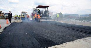 Ministria e Infrastrukturës, njofton se është asfaltuar një segment në rrugën N 25, Rrethrrotullimi Besi- Besianë