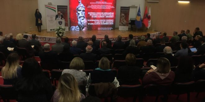 Është mbajtur Konferenca Shkencore Ndërkombëtare, kushtuar 550-vjetorit të vdekjes së Gjergj Kastriotit-Skënderbeut