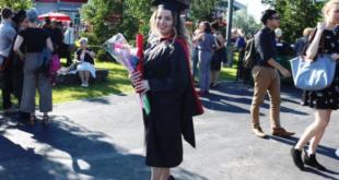 """Vajza e heroit të Mehdi Morina, Arnisa diplomon në Universitetin prestigjioz të Kanadasë """"Osgoode Hall Law School"""""""