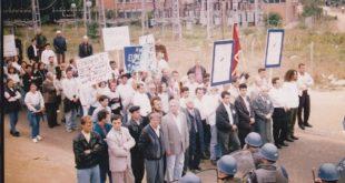 22 vite nga protesta studentore e vitit 1997 e organizuar për të kundërshtuar pushtimin e Kosovës nga Serbia