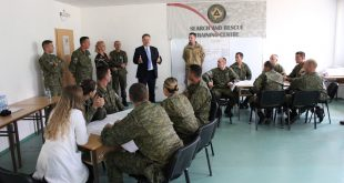 Ambasadori i Britanisë së Madhe Nicholas Abbott e viziton Qendrën e Trajnimit për Kërkim Shpëtim të FSK-së