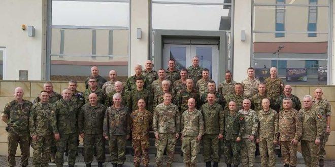 Gjenerallejtënant Rrahman Rama në Konferencën e Shefave të Mbrojtjes në Gjermani