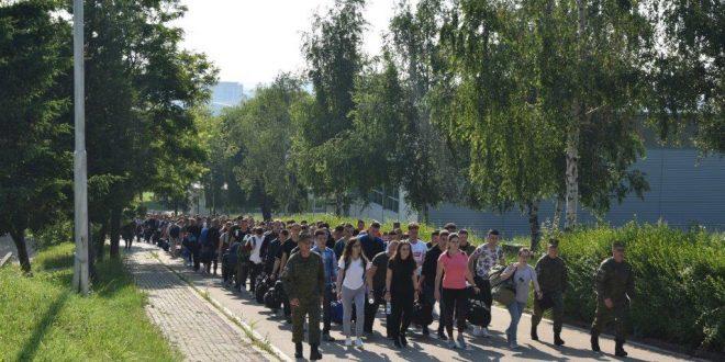 350 rekrutë të rinj të FSK-së e fillojnë trajnimin bazik në Komandën e Doktrinës dhe Stërvitjes në Ferizaj