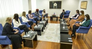 Kryeministri, Albin Kurti e pret në takim një delegacion nga Koalicioni i OJQ-ve për Mbrojtjen e Fëmijëve në Kosovë