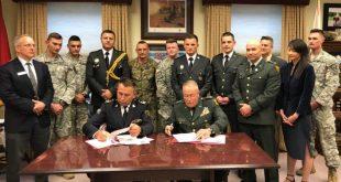 Komandanti i FSK-së, Rrahman Rama nënshkruan Marrëveshje bashkëpunimi me Universitetin e Norwichit, në Amerikë