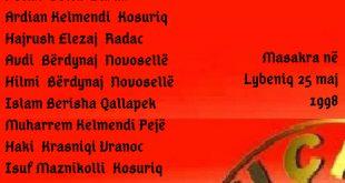 ShFD e UÇK-së dega në Pejë sot i përkujton bashkëluftetarët nga Lugu i Baranit, Podguri e Peja të rënë për liri