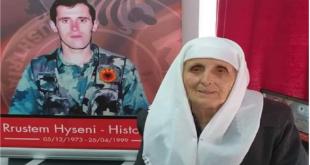 """Është ndarë nga jeta nëna e heroit të kombit, Rrustem Hyseni – """"Historiani"""""""