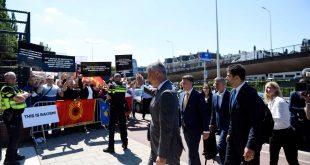 Thaçi para hyrjes në intervistim thotë se aktakuza për njollosjen e luftës së UÇK-së dhe propagandë politike