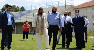 Kryetari i Burimit Haki Rugova priti në takim Ministren e Kulturës, Rinisë dhe Sportit, Vlora Dumoshi