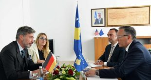 Sot nënshkruhet marrëveshje për Projektin e Qeverisjes se Mirë Financiare, ndërmjet Kosovës dhe Gjermanisë