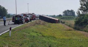 Në Kroaci ka ndodhur një aksident trafiku ku përfshirë një autobus nga Kosova, raportohet për 10 të vdekur