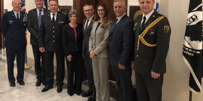 Delegacioni i FSK-së u prit në Washington DC nga Senatorja, Joni Ernst