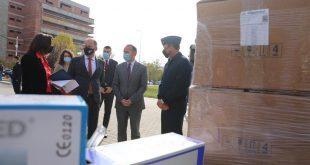 SHBA-të e dhurojnë një doacion me respiratorë, termo-skanderë si dhe pajisje tjera për stafin mjekësor në Kosovë