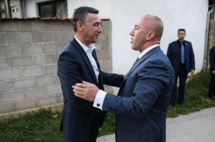 Haradinaj - Veselit: Ishim bashkë në kohët e vështira, jemi bashkë edhe sot
