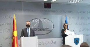 Albulena Balaj-Halimi takon Artan Grubin, paralajmërojnë takim në mes dy qeverive në Shkup