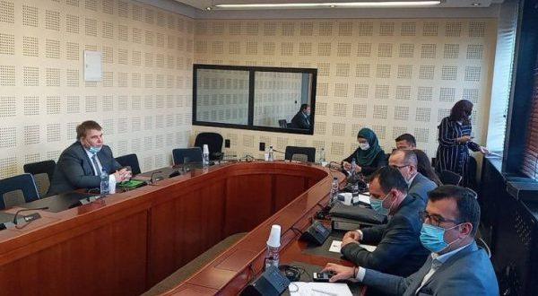 Ish-drejtori i ShSKUK-së, Basri Sejdiu raporton në Komisioni hetimor parlamentar për menaxhimin e pandemisë