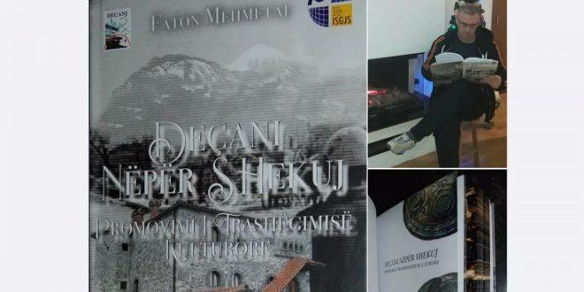 """Doli nga botimi libri i radhës i publicistit të mirënjohur, Faton Mehmetaj, """"Deçani Nëpër Shekuj"""""""