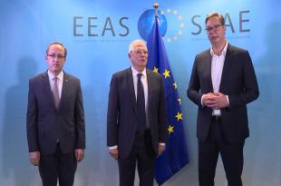 Me ndërmjetësimin e BE-së sot në Bruksel mbahet takimi i radhës ndërmjet Kosovës dhe Serbisë