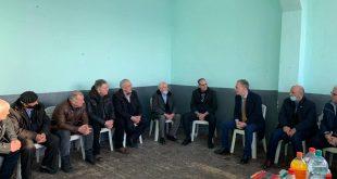 Fatmir Limaj, ka shkuar në ngushëllime në familjen Buja, me rastin e kalimit në amshim të babait të Ramë dhe Shukri Bujës.