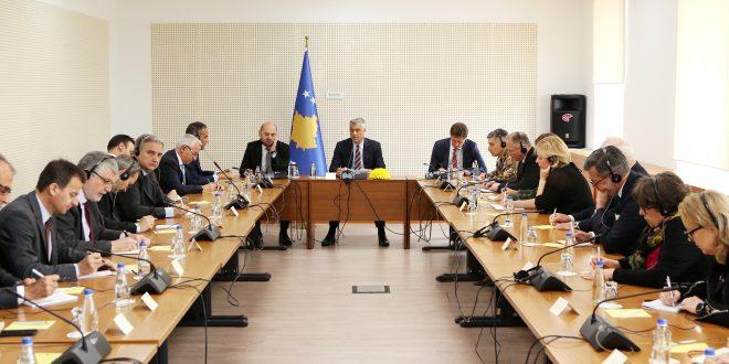 Thaçi: Shtetet anëtare të BE-së të jenë më unike dhe më të qarta në proces e dialogut në mes të Kosovës dhe Serbisë