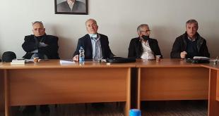 """Këshilli """"Pranvera shqiptare '81"""" mbanë mbledhjen e radhës në Shoqatën e Burgosurve Politikë, në Prishtinë"""