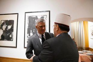 Kryetari i vendit, Thaçi i ka ka uruar të gjithë besimtarët myslimanë për festën e Fitër Bajramit