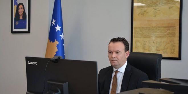 Ministri i Bujqësisë, Faton Peci takohet me menaxherin e Bankës Botërore për Kosovë, Massimiliano Paolucci