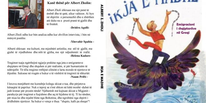 "Albert Z. ZHOLI: Pse po e ribotoj librin ""Ikja e madhe""!"