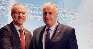 Ministri i FSK-së, Rrustem Berisha, por merr pjesë në Forumin Ndërkombëtar të Sigurisë, në Halifaks