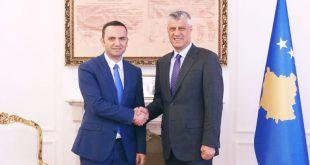 Kryetari i Kosovës, Hashim Thaçi, ka pritur sot zëvendëskryeministrin e Maqedonisë, Bujar Osmanin