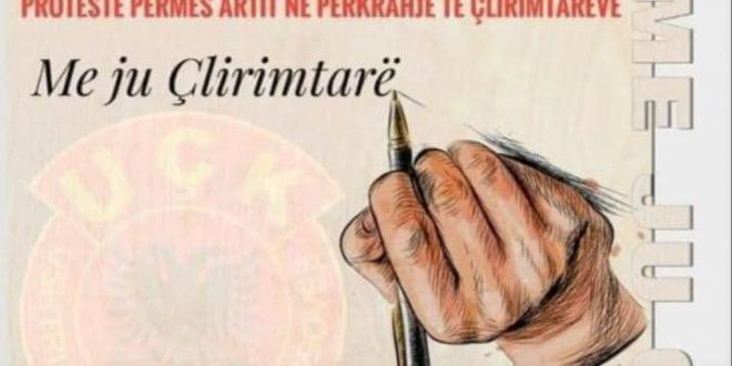 OVL-UÇK dega në Malishevë mban nesër në Prishtinë aktivitet protestues përmes artit, për shkak të fyerjeve që po bëhen ndaj UÇK-së