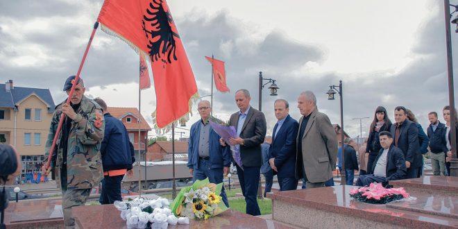 Më 13.07.2018 në Varrezat e Dëshmorëve të Kombit në Ferizaj nderohet dëshmori Sali Berisha