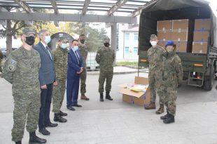 """Në kazermën """"Adem Jashari"""", u mbajt ceremonia e pranim-dorëzimit të donacionit nga Republika Federale e Gjermanisë"""