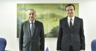 Kryeministrit, Albin Kurti, priti në takim përfaqësuesin Special të Sekretarit të Përgjithshëm të OKB-së, Zahir Tanin