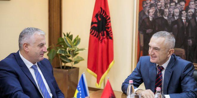 Ministri i Forcës së Sigurisë së Kosovës, Rrustem Berisha, po qëndron për vizitë zyrtare në Republikën e Shqipërisë