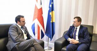 Ministri Reçica thotë se Kosova i është mirënjohëse ambasadorit O'Connell për gjithë kontributin e dhënë në vendin tonë