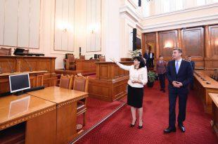 Kryekuvendarja e Bullgarisë, Karajançeva, i premtoi Kadri Veselit mbështetjen për Kosovën në të gjitha fushat
