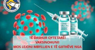 IKSHPK i fton sërish qytetarët që të vaksinohen dhe ta mbrojnë veten, familjen dhe kombin nga virusi korona