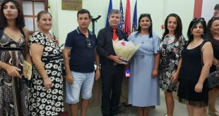Albert Zholi shpallet personalitet i shquar i Rrethit të Vlorës