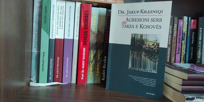 """Ahmet Qeriqi: Libri: """"Agresioni serb dhe taksa e Kosovës"""", i autorit, Jakup Krasniqi, përplot me dëshmi e fakte të pakontestueshme"""