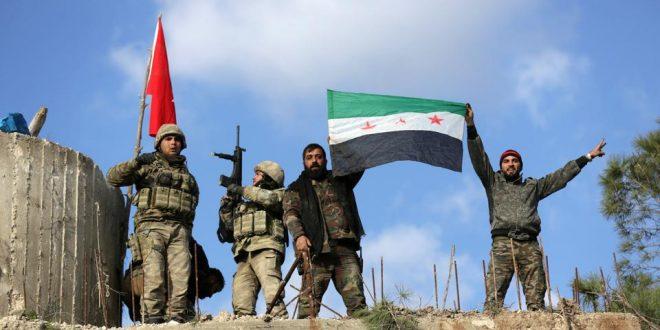 Kryengritësit sirianë të mbështetur nga ushtria turke kanë rimarrë nën kontroll qytetin Nairab, në provincën e Idlibit