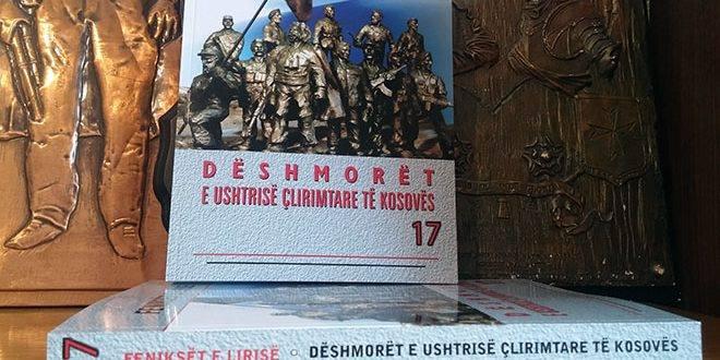 """Më 20 dhjetor përurohet monografia, """"Feniksët e lirisë -17"""""""