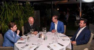 Rama takohet me Vuçiqin dhe Zaevin në Novi Sad, bisedojnë për krijimin e një mini-Shengeni brenda Ballkanit