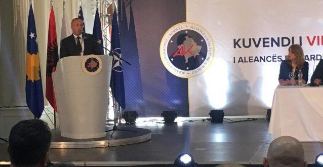 Kuvendi i tetë zgjedhor i AAK-së rizgjodhi Ramush Haradinaj kryetar të kësaj partie