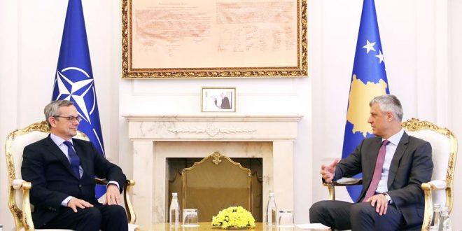 Thaçi: Kosova është faktor stabiliteti dhe mbetet e përkushtuar për forcimin e paqes në rajon